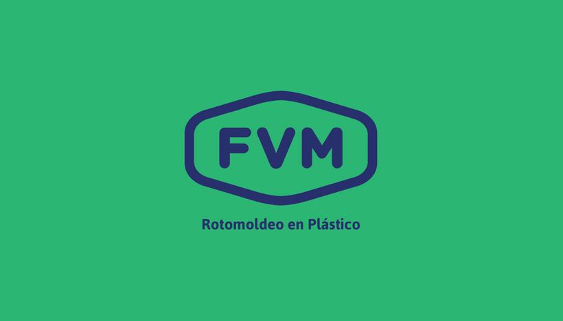 Rediseño de imagen para FVM una empresa dedicada a la fabricación y comercialización de productos plásticos para la industria, el campo, el comercio, municipios, comunas y empresas. 1