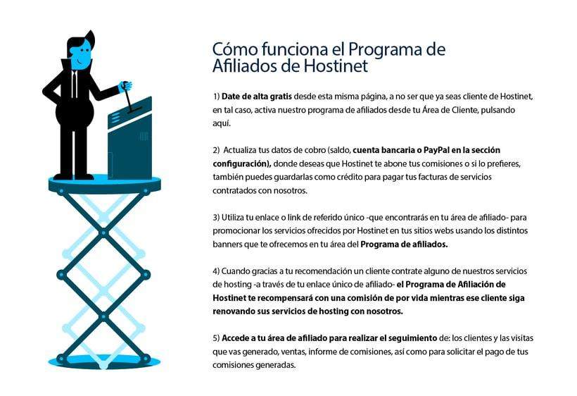 Hostinet.com ( Diseño UX y elementos gráficos) 2