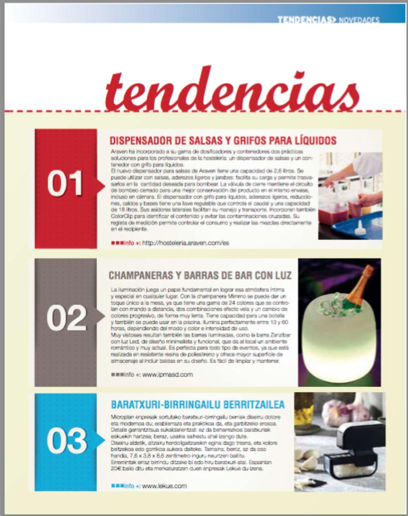 Revista Hosteleros de Guipúzcoa, número 36 primavera 2016 1