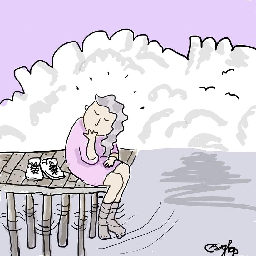 Ilustraciones  de tinta y sueños de sory_bp 0