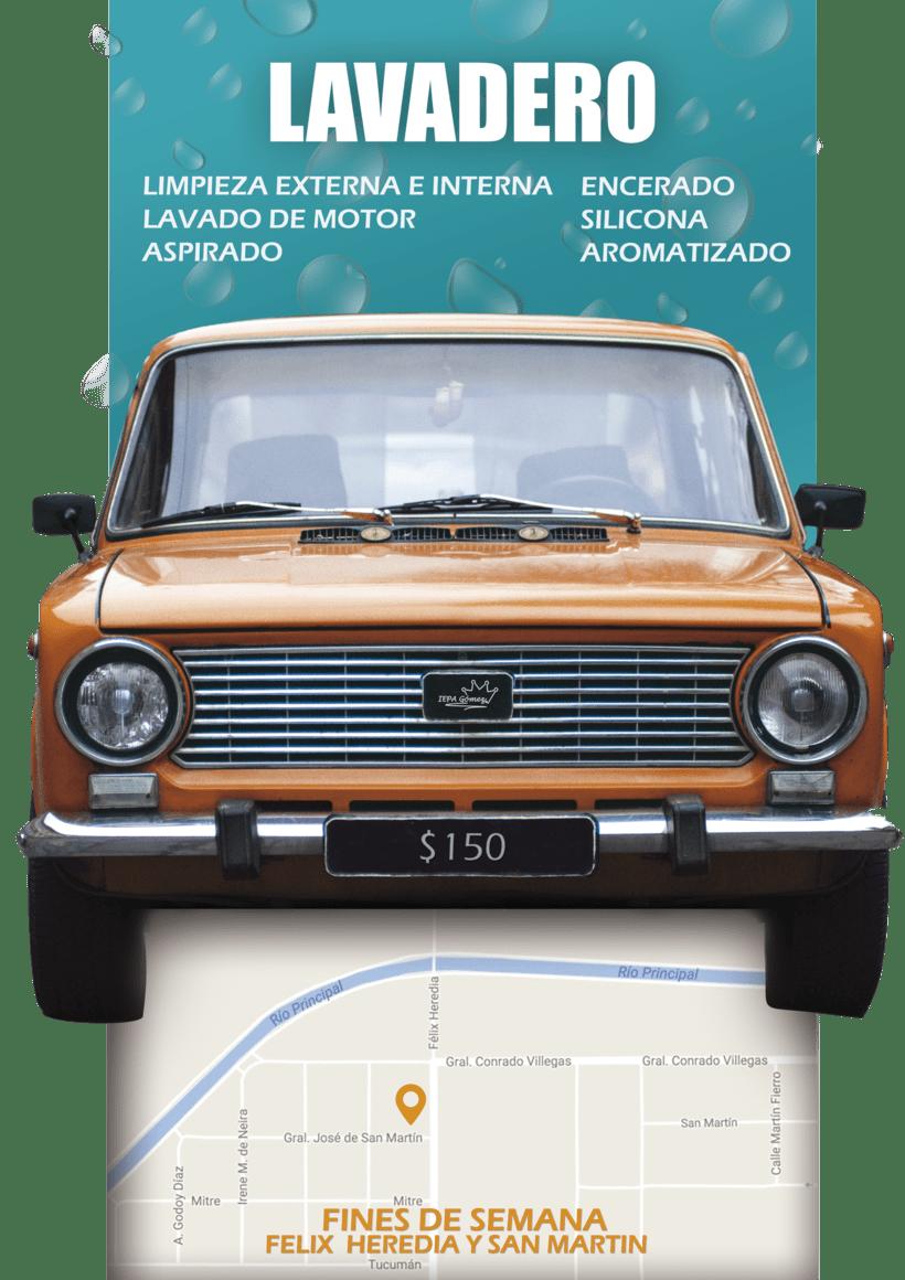 - Afiche Flyer - 1