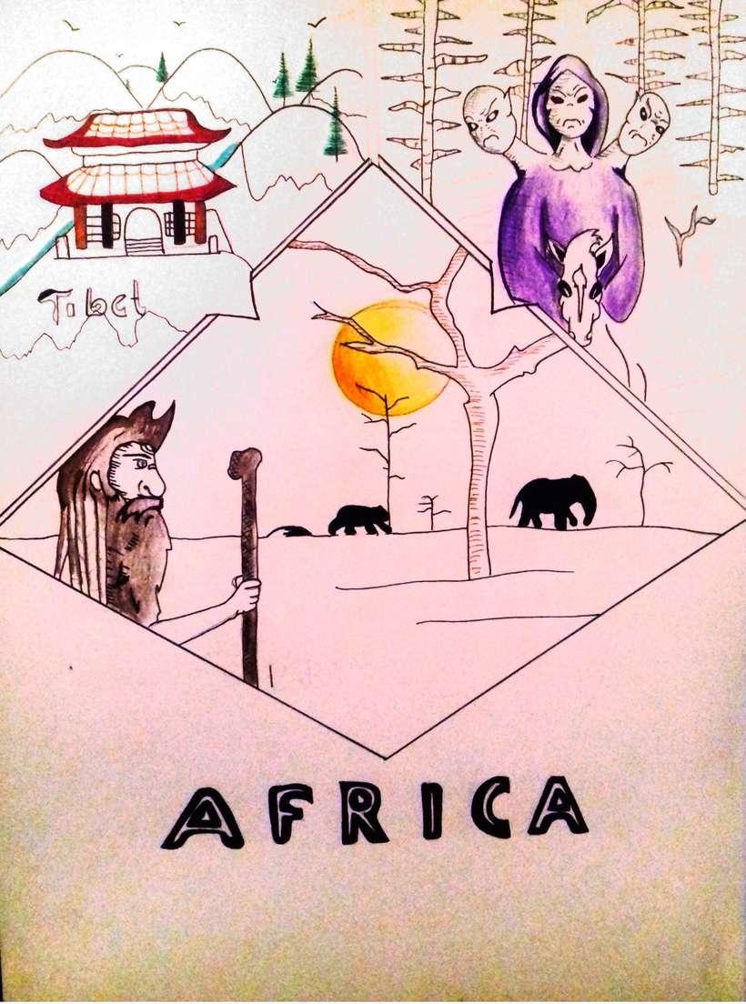 Cómic África 0