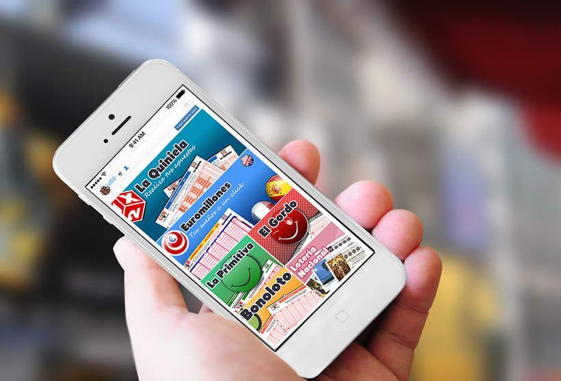 Versión móvil app para Administraciones de Loterías -1