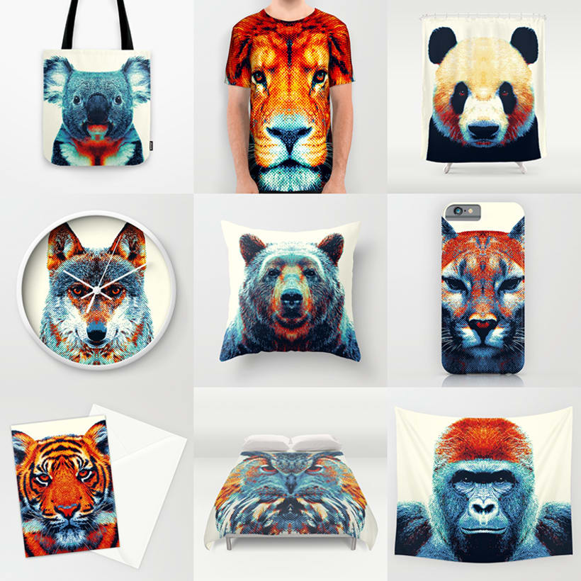 Colorful Animals 12