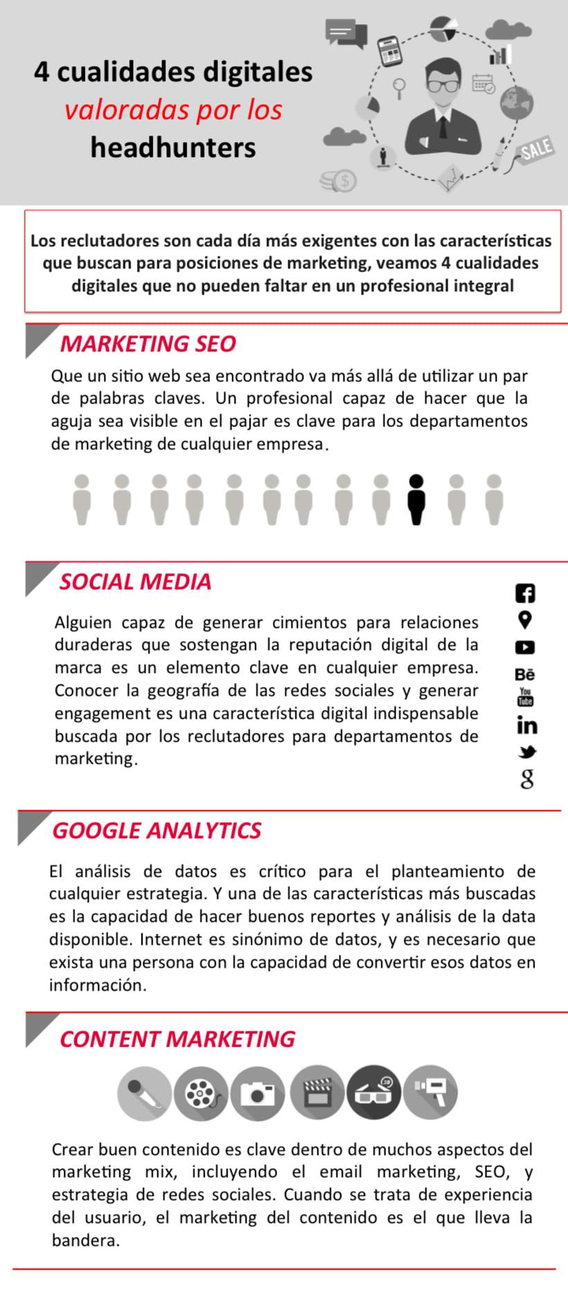 4 cualidades digitales valoradas por los headhunters. Por EAE Business School. 0