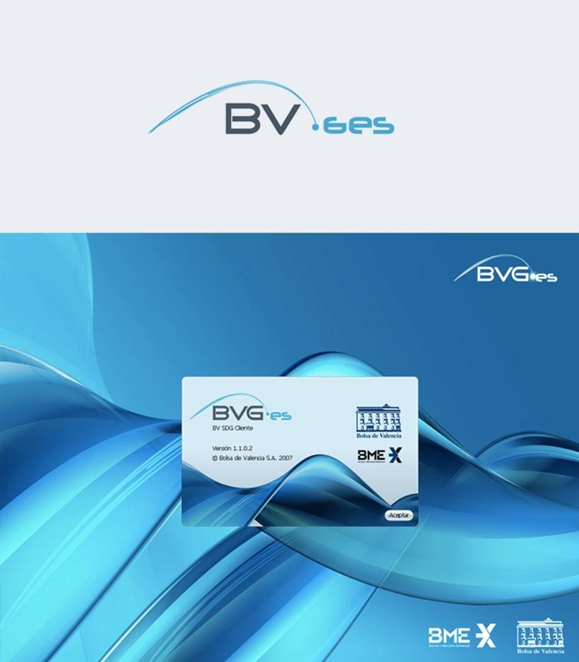 Diseño de marca y diseño UX de aplicación Bolsa de Valencia -1