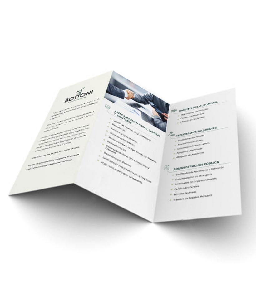 Diseño de identidad corporativa y folletos 2