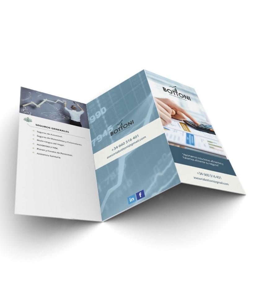 Diseño de identidad corporativa y folletos 3