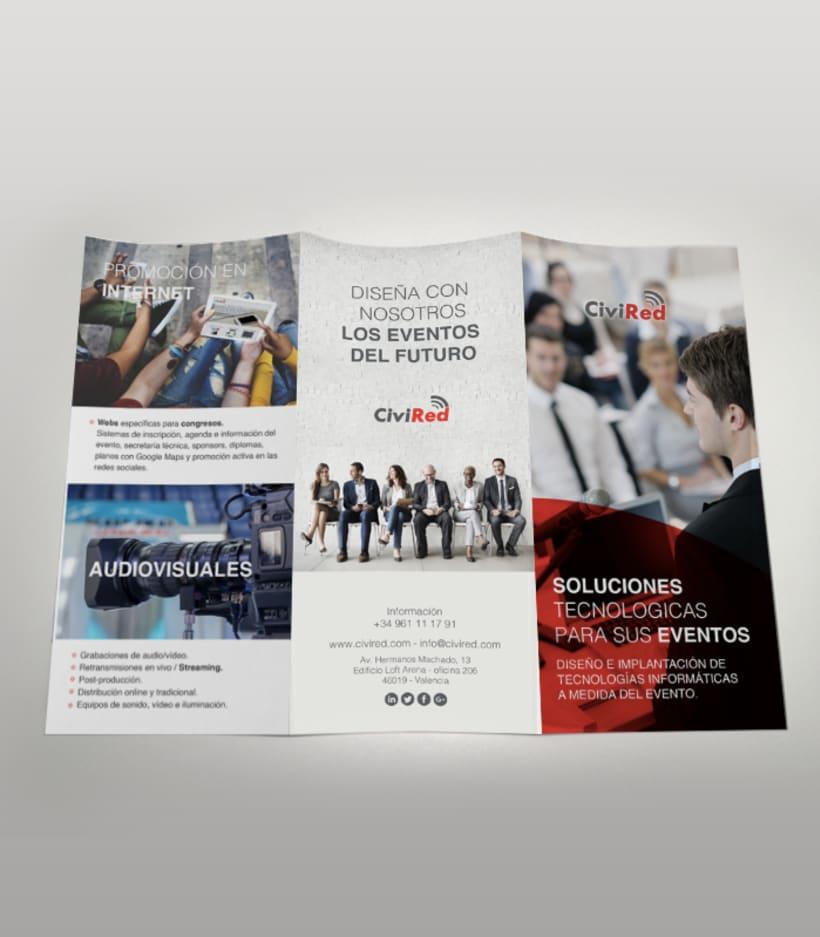 Diseño gráfico y  folletos 2