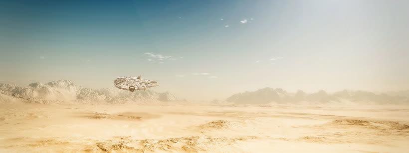 Star Wars Desierto 0