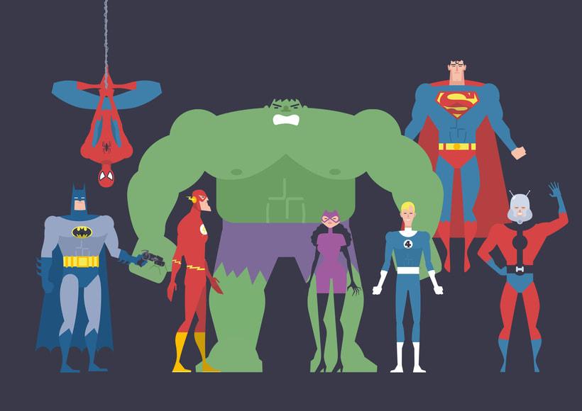 SUPERHEROS 11