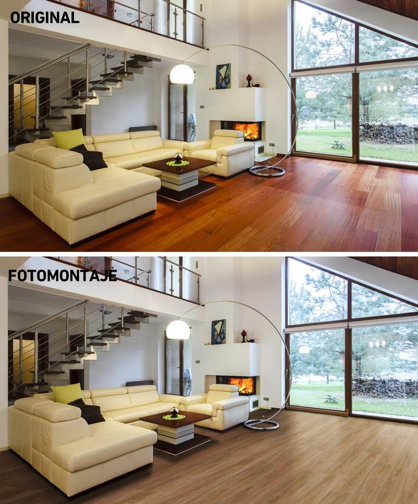 Fotomontajes pavimento 1