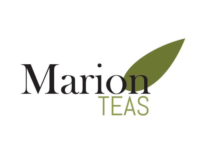 Marion Teas logo y packaging  0