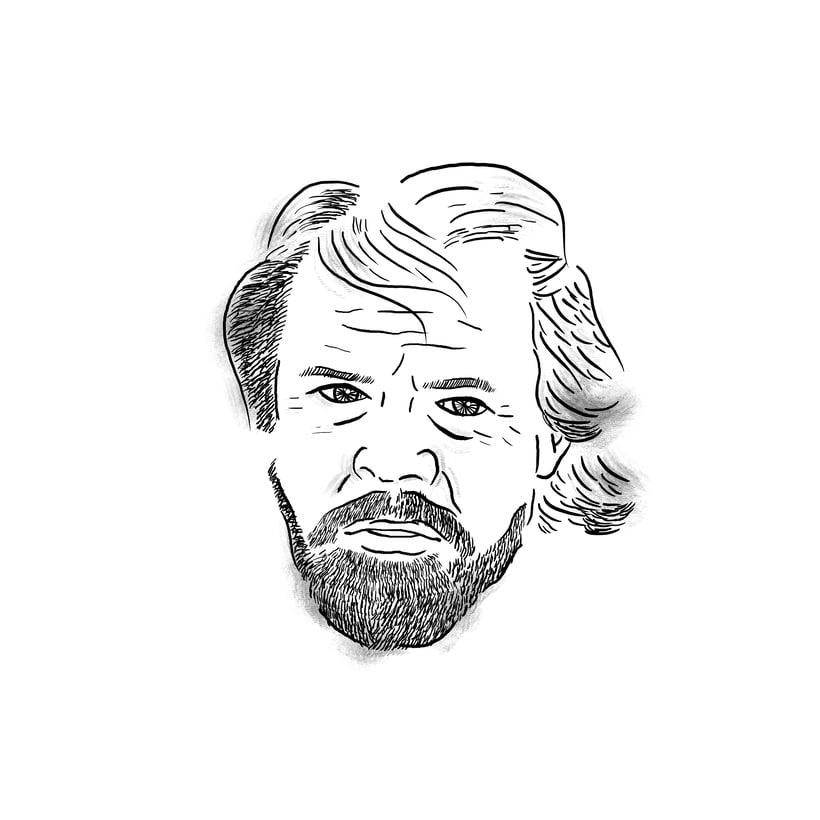 Luke Skywalker; mi proyecto del curso: Retrato ilustrado con Photoshop 2