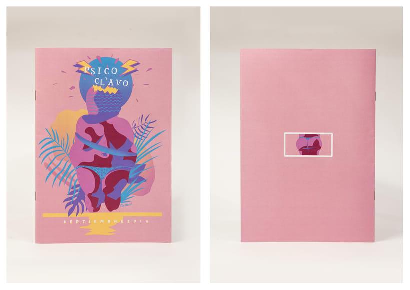 Venus (Portada Psicoclavo Fanzine) 2