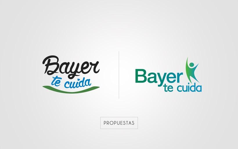 "Identidad Corporativa ""Bayer te cuida"" 0"
