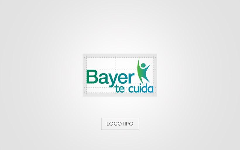 "Identidad Corporativa ""Bayer te cuida"" 1"