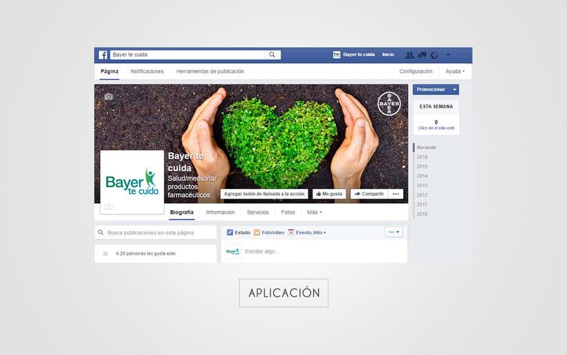 "Identidad Corporativa ""Bayer te cuida"" 4"