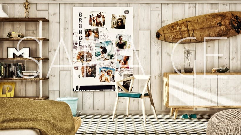 Dormitorio 3Dmax+Vray -1