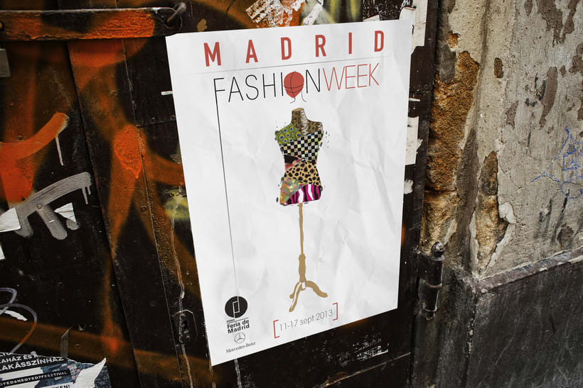 DISEÑO DE CARTEL PARA LA FASHION WEEK MADRID 2013 0