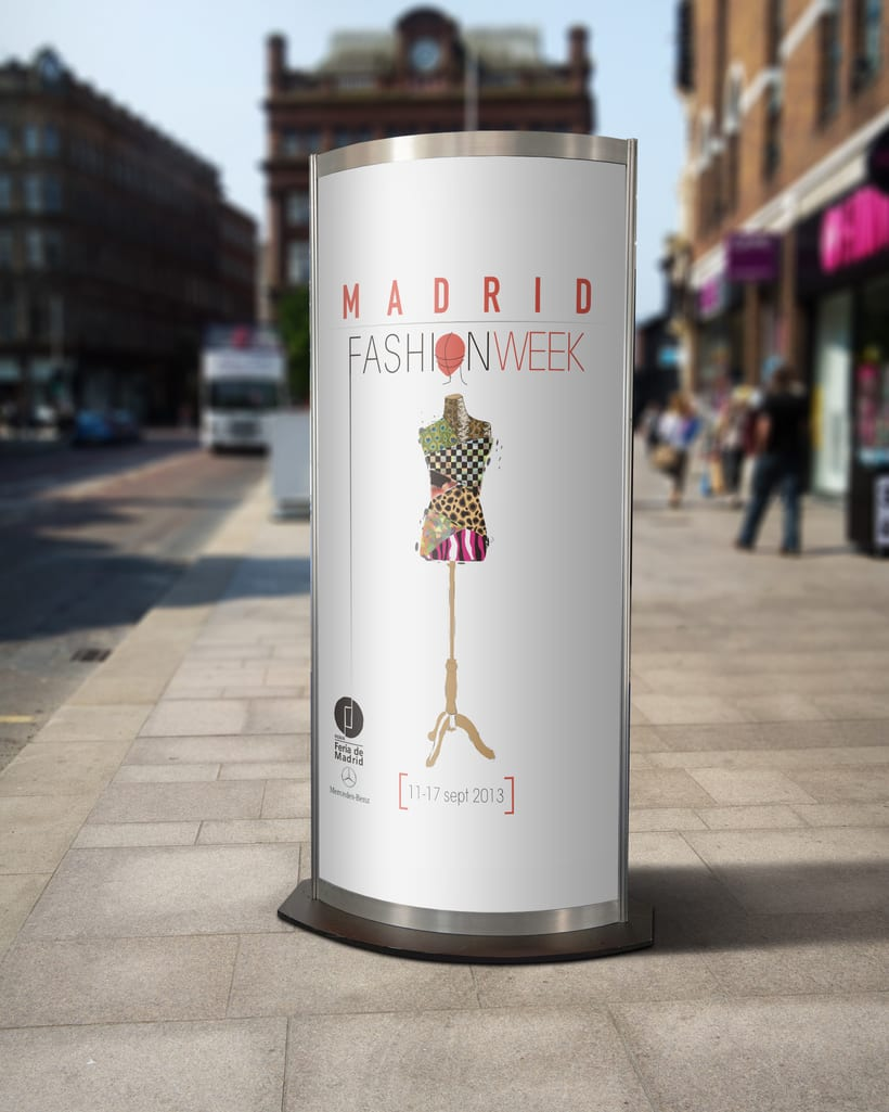 DISEÑO DE CARTEL PARA LA FASHION WEEK MADRID 2013 2