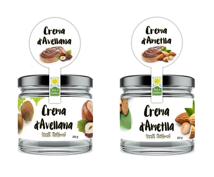 Crema Avellana y Almendra  -1