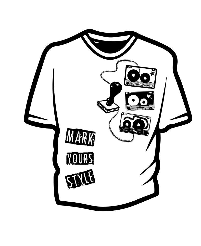Ilustración para concurso de diseño T-Shirt GrafikConcert 1
