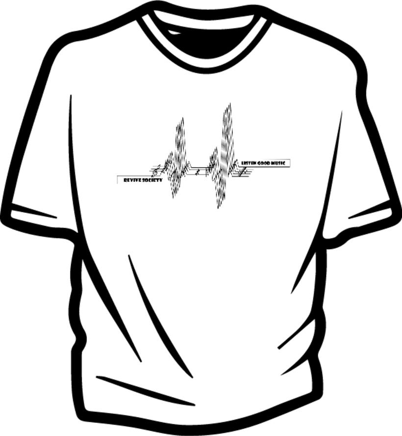 Ilustración para concurso de diseño T-Shirt GrafikConcert 3