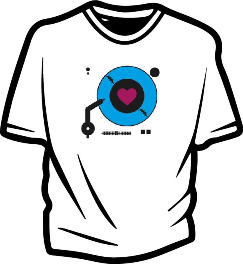 Ilustración para concurso de diseño T-Shirt GrafikConcert 4
