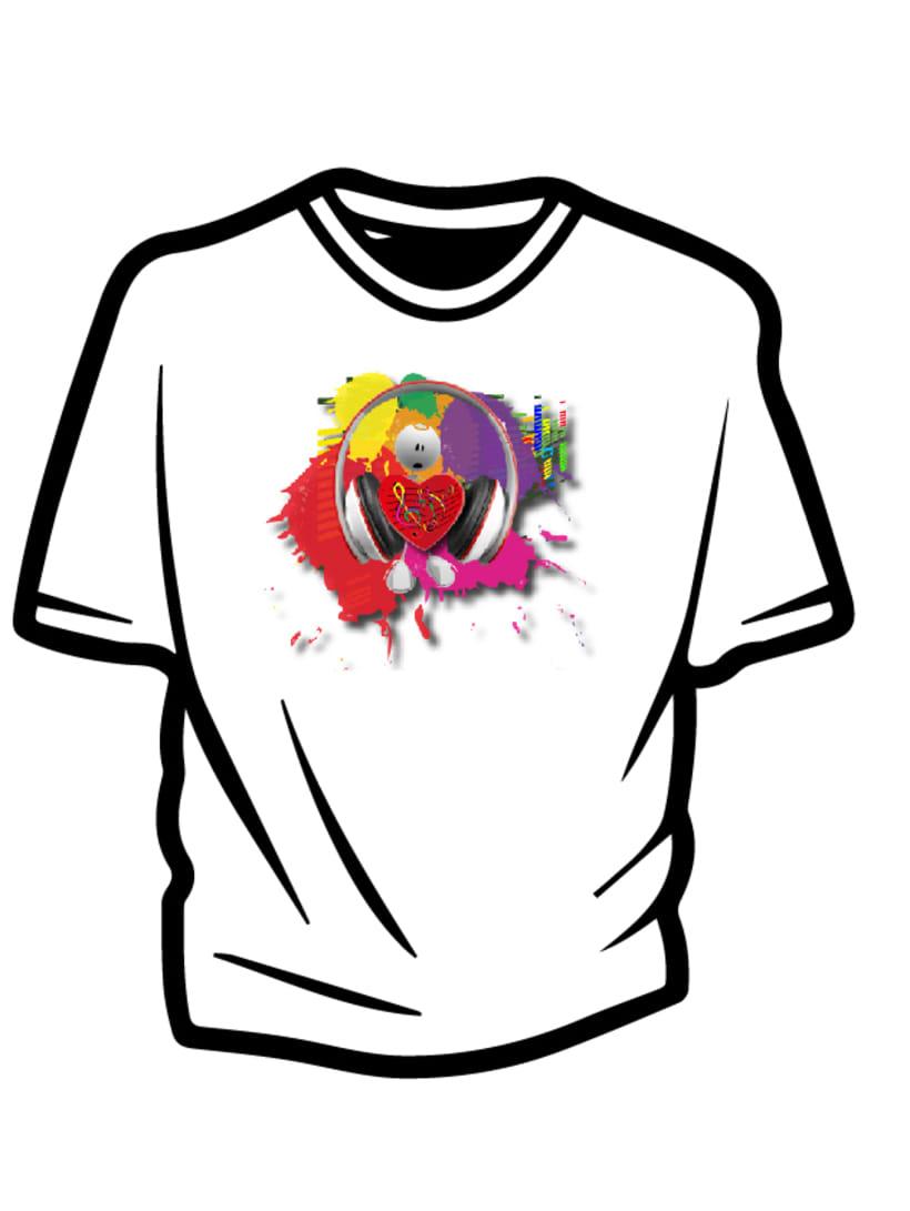 Ilustración para concurso de diseño T-Shirt GrafikConcert 5