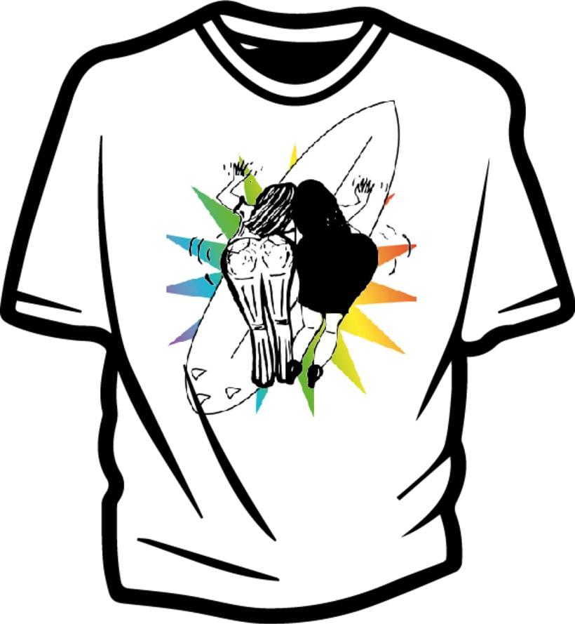 Ilustración para concurso de diseño T-Shirt GrafikConcert 6