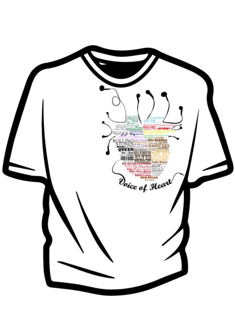 Ilustración para concurso de diseño T-Shirt GrafikConcert 8