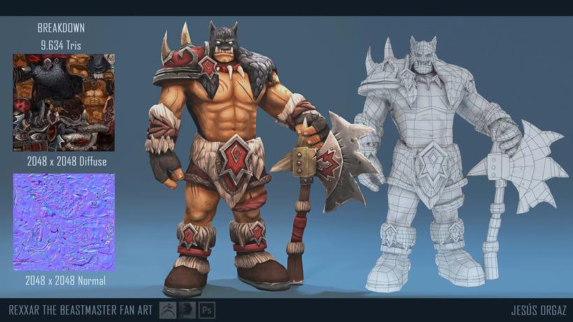Rexxar The Beastmaster 2
