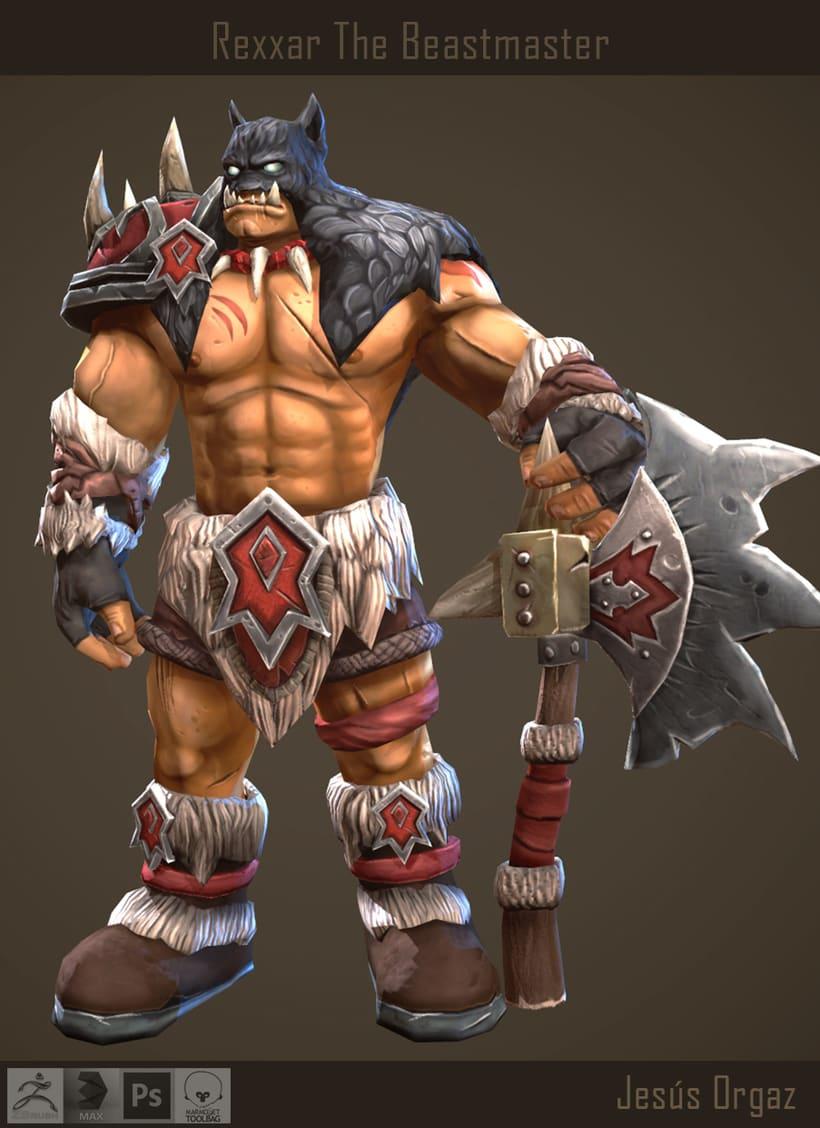Rexxar The Beastmaster 1