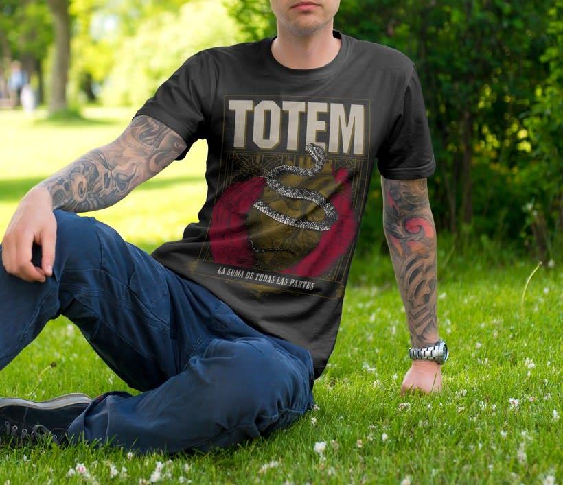 Totem - Afiche y serigrafia para remera 0