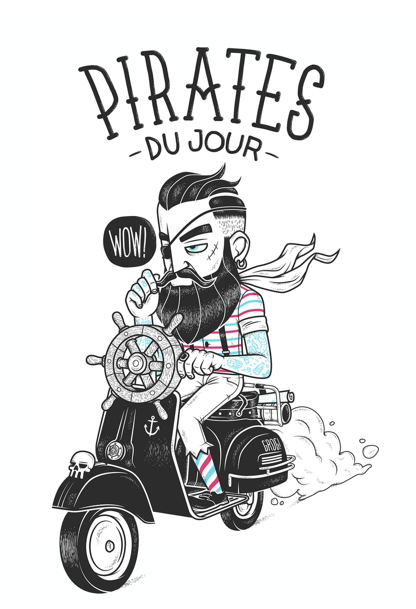 PIRATES 'DU JOUR' 1