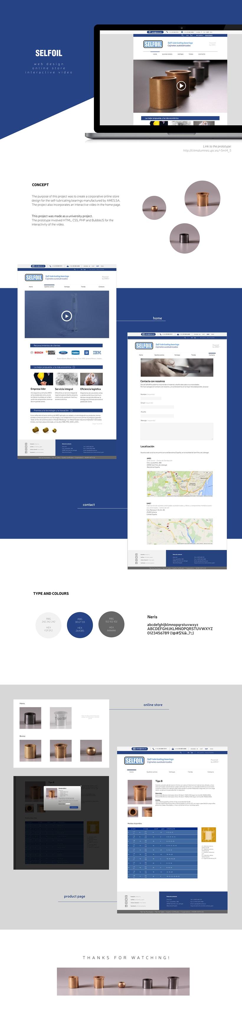 AMES-SELFOIL Website -1