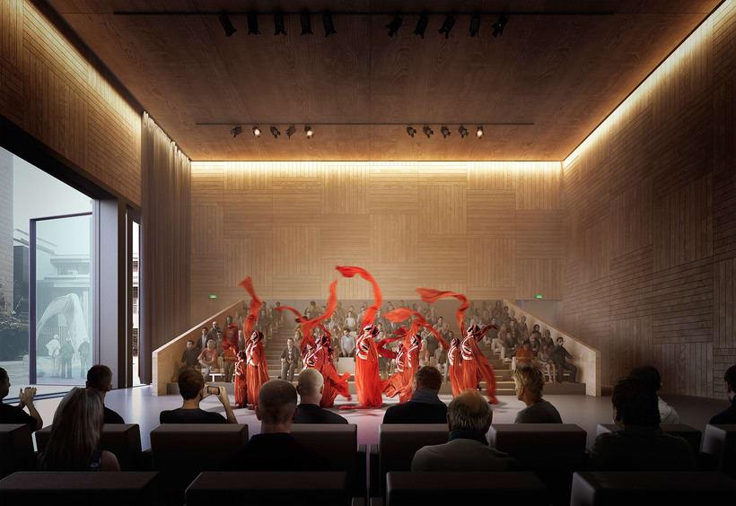 Centro Cultural en Beijing -1