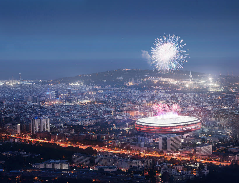 Nou Camp Nou - Estadio del F.C. Barcelona 2