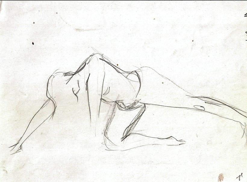 Dibujo del movimiento 1