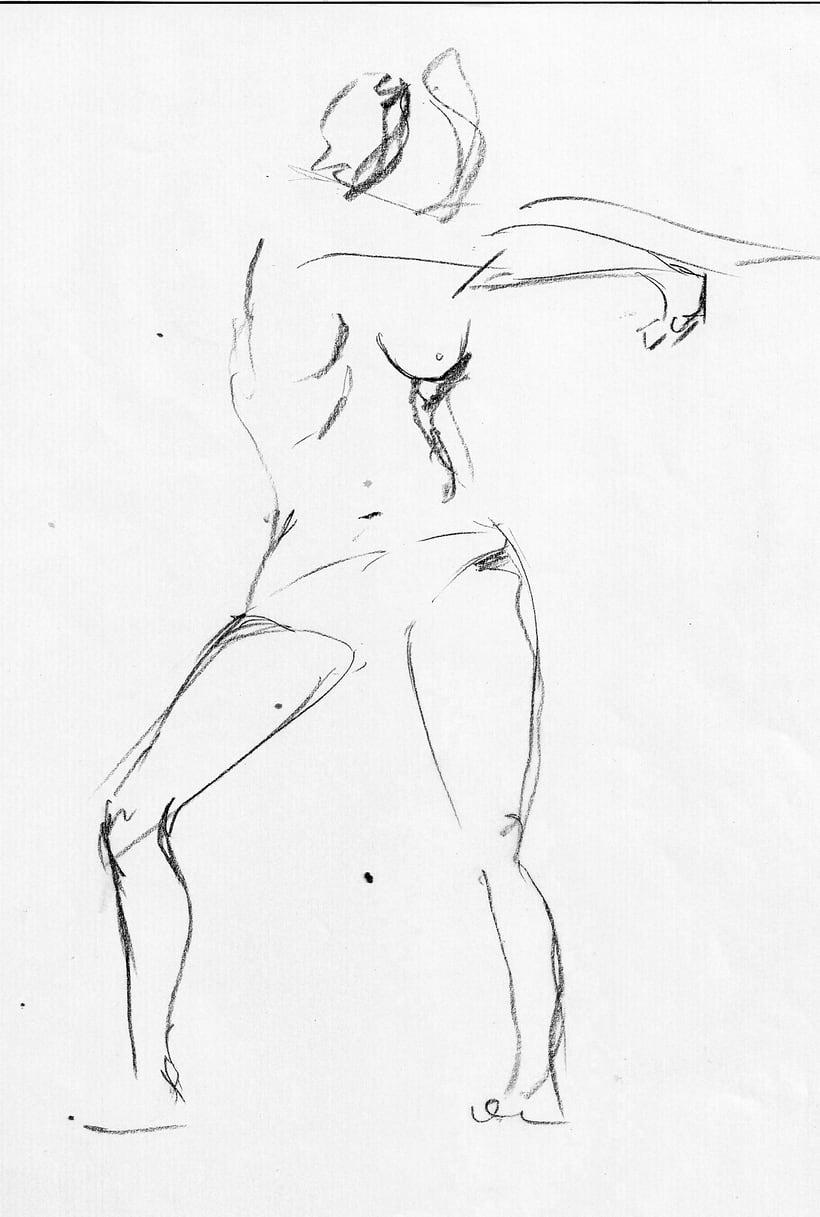 Dibujo del movimiento 2