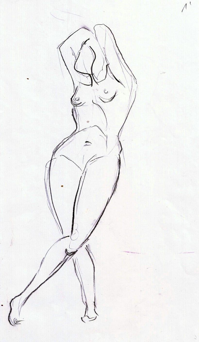 Dibujo del movimiento 3