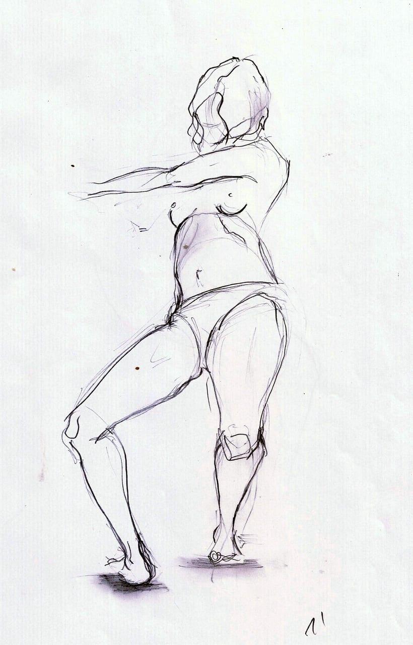 Dibujo del movimiento 4