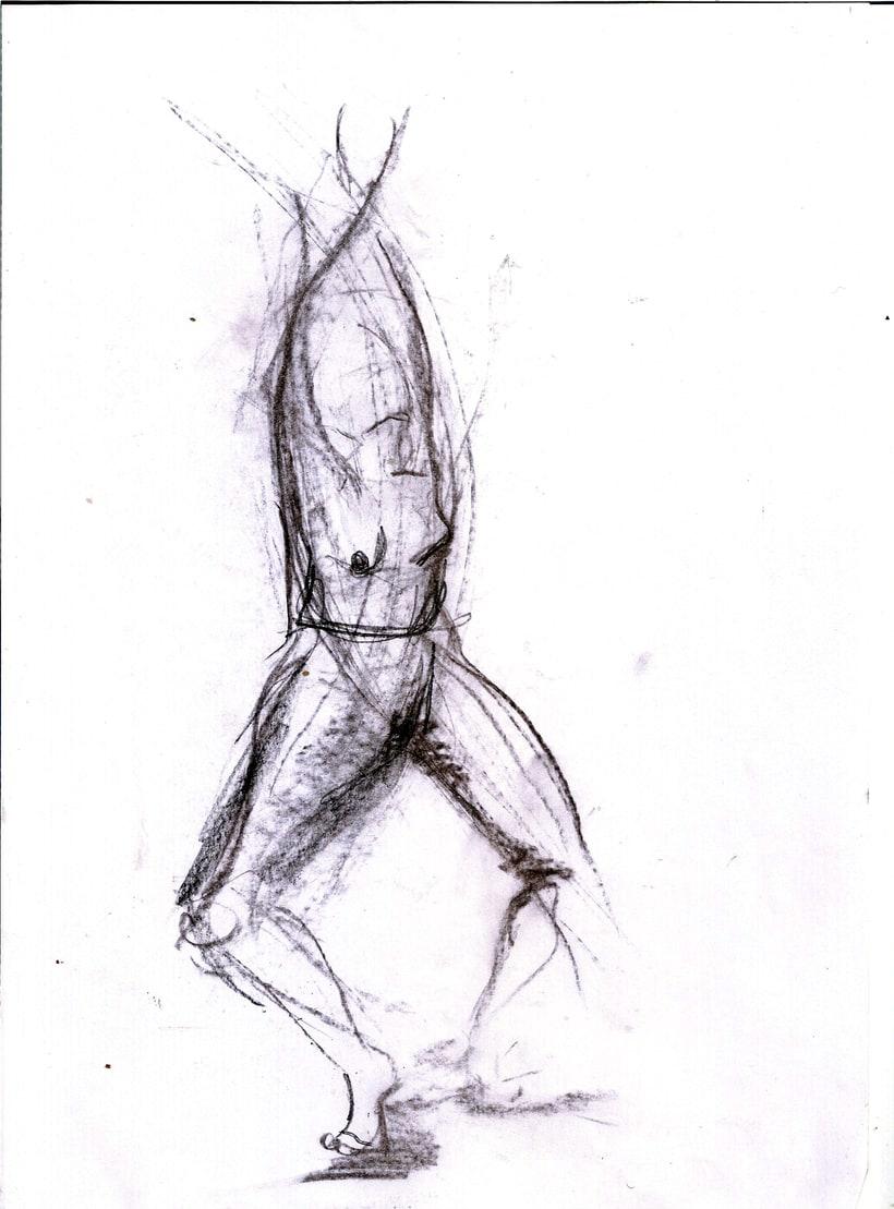 Dibujo del movimiento 10