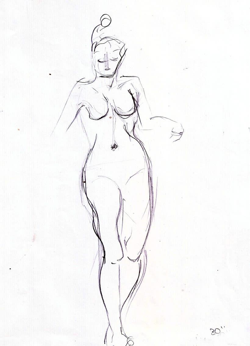 Dibujo del movimiento 12