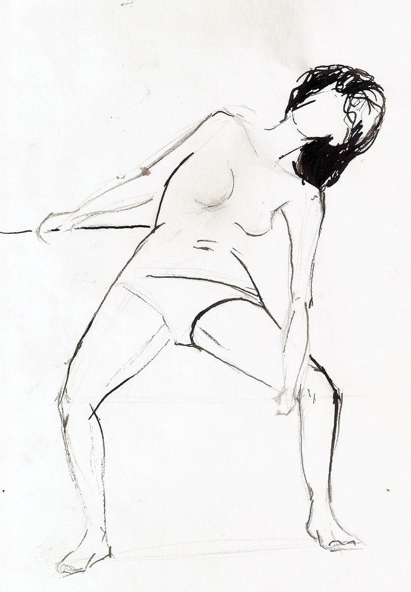 Dibujo del movimiento 13
