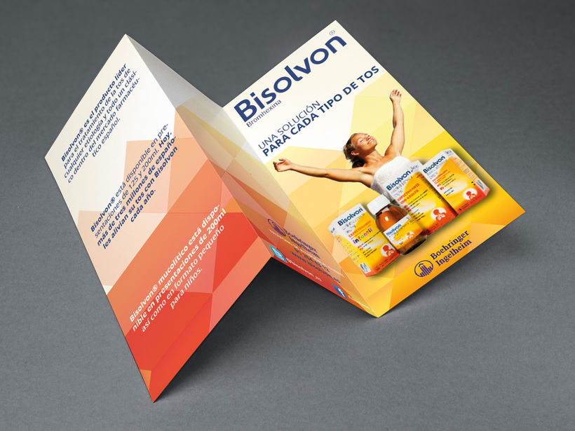 Proyecto Bisolvon Tríptico - Máster Diseño Gráfico 0