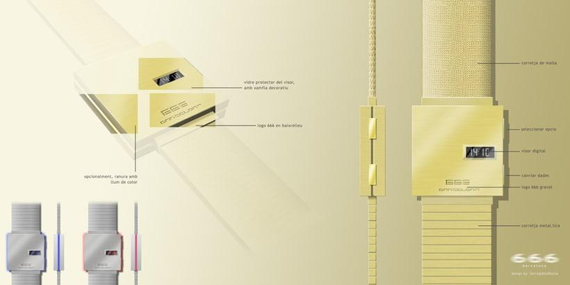 666barcelona watches (diseño de producto y dirección de arte) 2