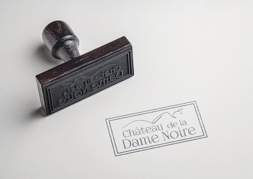 Chateau de la Dame Noire - Proyecto identidad corporativa -1