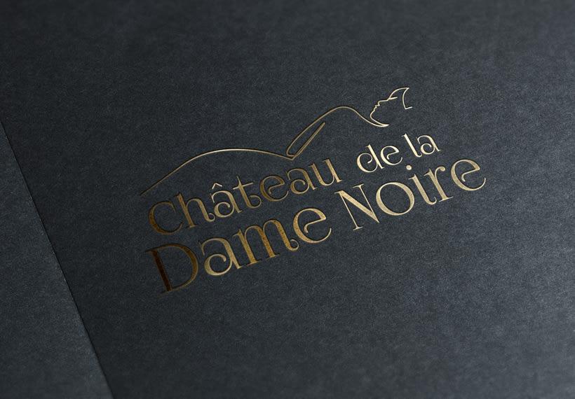 Chateau de la Dame Noire - Proyecto identidad corporativa 5